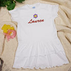 Embroidered Icon Infant/Toddler Romper Dress