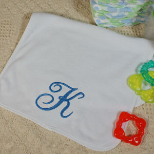 Embroidered Baby Burp Cloth E363441