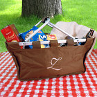 Embroidered Any Initial Picnic Tote E439254