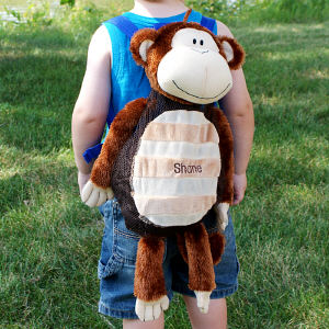 Embroidered Silly Monkey Sac