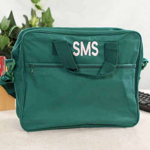 Embroidered Messenger Bag E7468100
