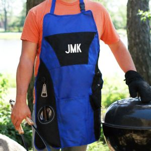 Embroidered Grillmaster Plus Apron | BBQ Gifts For Dad