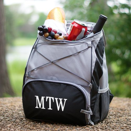 Embroidered Backpack Cooler | Personalized BBQ Gifts