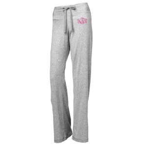 Monogram Ladies Jersey Pants