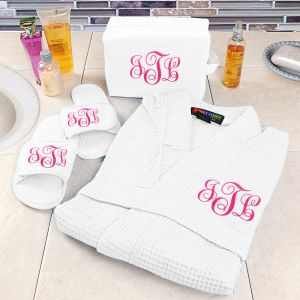 Embroidered Spa Gift Set