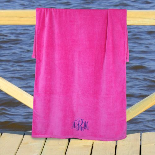 Monogram Beach Towel E767331X