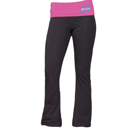Embroidered Ladies Yoga Pant E7680124X