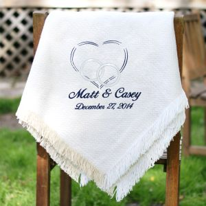 Embroidered Wedding Afghan