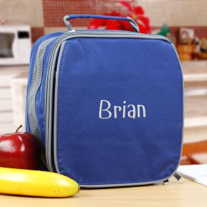 Embroidered Brody Lunch Bag