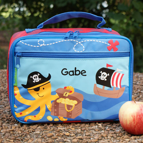 Pirate Personalized Lunch Box G00709SJ