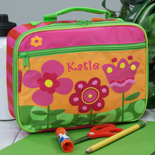 Embroidered Flower Lunch Box G00710SJ