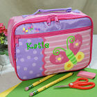 Butterfly Embroidered Lunch Box G00711SJ