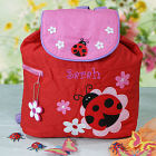 Quilted Ladybug Embroidered Backpack G00715SJ
