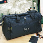 Embroidered Travel Duffel Bag