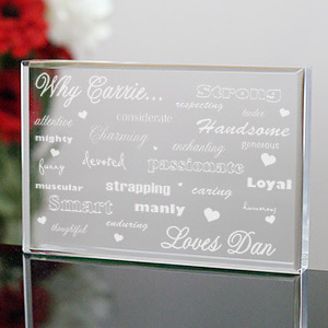 Engraved Why I Love You Keepsake 721623