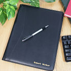 Executive Personalized Leather Portfolio