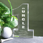 Number One Uncle Personalized Keepsake - 1