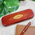 Personalized Grandma Rosewood Pen Set