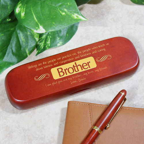 Personalized Brother Pen Set