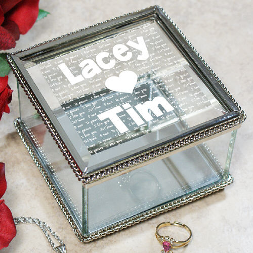 Engraved I Love You Jewelry Box 8526380