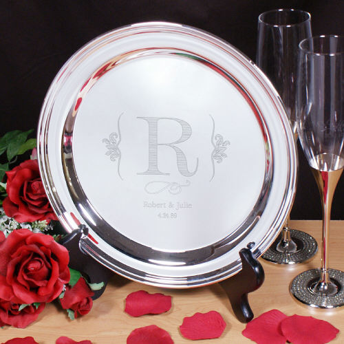 Engraved Wedding Serving Tray 8575560