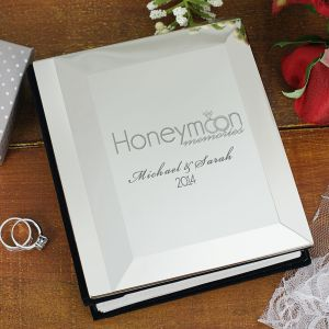 Engraved Honeymoon Photo Album 8576100