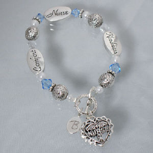 Engraved Nurse Bracelet