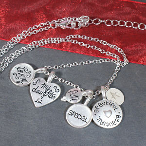 Engraved Loving Special Daughter Necklace