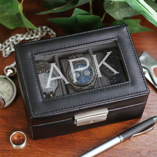 Engraved Watch Box | Personalized Men's Gifts