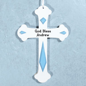 Engraved Kids Wall Cross