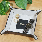 Personalized Any Initials Leather Catchall L43580