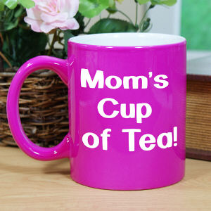 Engraved Any Message Two-Tone Mug