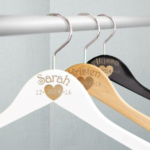 Engraved Wedding Party Hangers
