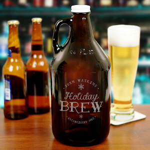 Holiday Beer Growler