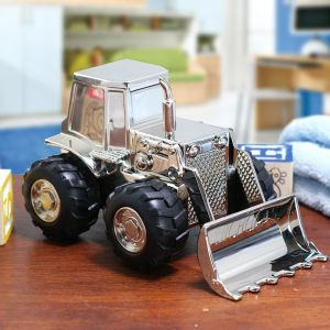 Engraved Tractor Bank | Customized Baby Gifts