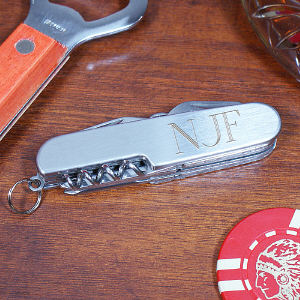 Multi-Tool Pocket Knife | Personalized Pocket Knife For Dad