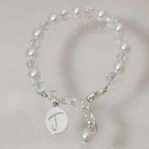 Engraved God Child Bracelet
