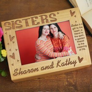 Sisters Photo Keepsake Box | Personalized Keepsake Box