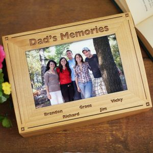 Engraved Memories Photo Keepsake Box