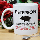 Pig BBQ Family Reunion Coffee Mug