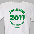 Circle Family Reunion T-shirt