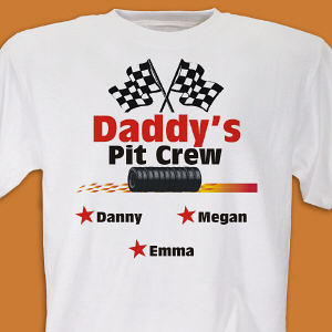 Personalized Pit Crew Shirt
