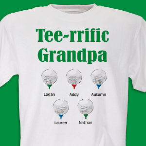 Personalized Tee-rrific Golf Shirt