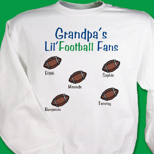Lil' Football Fans Sweatshirt