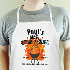 BBQ Grill & Chill Personalized Apron