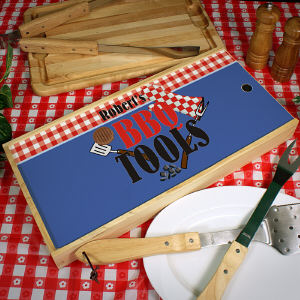 Personalized BBQ Tools Barbeque Kit