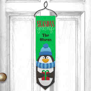 Personalized Seasons Greetings Banner