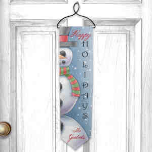 Personalized Happy Holidays Banner