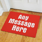You Name It Personalized Doormat