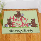 Happy Easter Personalized Doormat